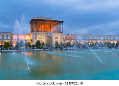 Ali Qapu is a grand palace in Isfahan, Iran. It is located on the western side of the Naqsh e Jahan Square, opposite to Sheikh Lotfollah Mosque, and had been originally designed as a vast portal.