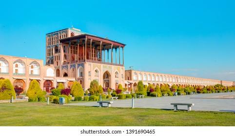 Ali Qapu Palace on Naqsh-e Jahan Square - Isfahan, Iran