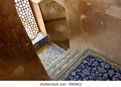 Ali Qapu Royal palace in Isfahan, Iran