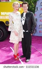Alice Evans and Ioan Gruffudd arriving at the 2007 MTV Movie Awards. Gibson Amphitheatre, Universal City, CA. 06-03-07