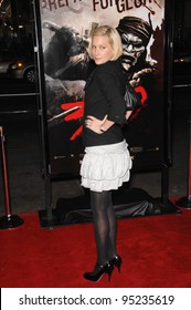 """Alice Evans at the Los Angeles premiere of """"300"""" at the Grauman's Chinese Theatre, Hollywood. March 6, 2007  Los Angeles, CA Picture: Paul Smith / Featureflash"""