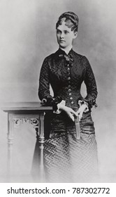 Alice Hathaway Lee Roosevelt, Theodores Roosevelt first wife and mother of Alice Roosevelt. She was married to Roosevelt for less than 4 years when she died in 1884 at age 23