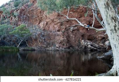 Alice Springs Australia, Ellery creek big hole