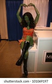 """Alicia Arden from CelebrityCosplay.com as the """"Orion Slave Girl"""" from Star Trek at Long Beach Comic-Con Day 2, Long Beach Convention Center, Long Beach, CA. 10-30-10"""