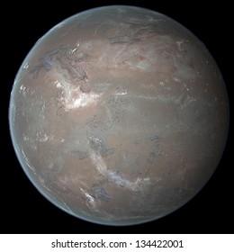 Alien Dune Exo Planet