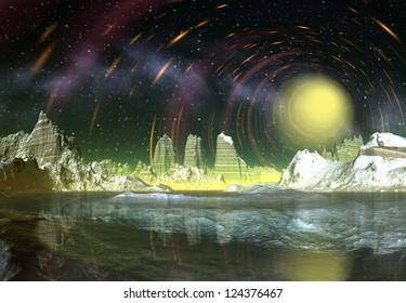 Alien Planet - Computer Artwork