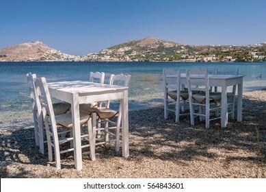 Alinda beach Leros island Greece