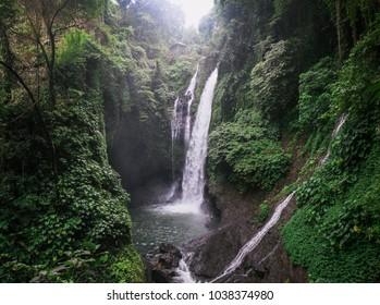 aling aling waterfall in north bali