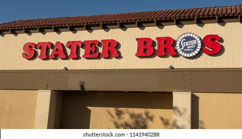 Aliso Viejo, CA / USA - 07/24/2018: Stater Brothers Store Location