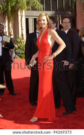 ALISON JANNEY 2002 Emmy Awards Los Stock Photo Edit Now 94269373