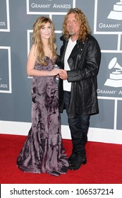Alison Krauss and Robert Plant at the 51st Annual GRAMMY Awards. Staples Center, Los Angeles, CA. 02-08-09