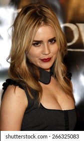 "Alison Lohman attends the Los Angeles Premiere of ""Beowulf"" held at the Westwood Village Theater in Westwood, California, United States on November 5, 2007."