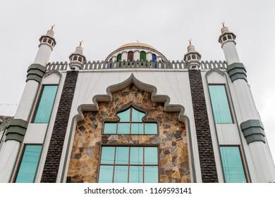 Al-Kabeer Grand Jumma Mosque in Nuwara Eliya town, Sri Lanka