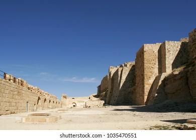Al-Karak castle in the Jordan