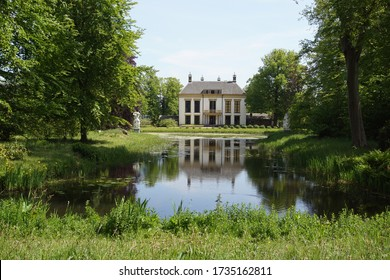 Alkmaar, Netherlands, May 18, 2020. Landgoed Nijenburg is an 18th-century Dutch country estate between Alkmaar and Heiloo in North Holland. Today estate Nijenburg is a nature reserve.