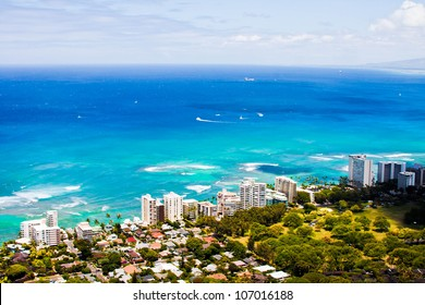 All about blue in Oahu,Hawaii