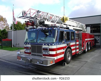 All American Fire Truck and Station