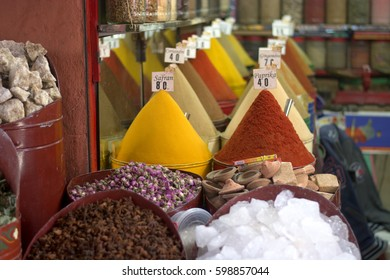 All colors and scents in the Eastern markets