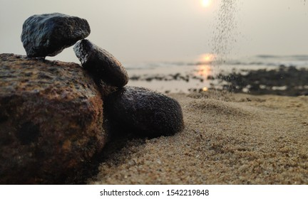 All the lessons are in nature. You look at the way rocks are formed - the wind and the water hitting them, shaping them, making them what they are. Things take time, you know?
