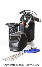 All the necessary tools for electro-gas welding