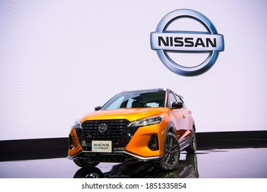 All New Nissan Kicks e-POWER 2020 on display at THE 41st BANGKOK INTERNATIONAL MOTOR SHOW 2020 on July 14, 2020 in Nonthaburi, Thailand.