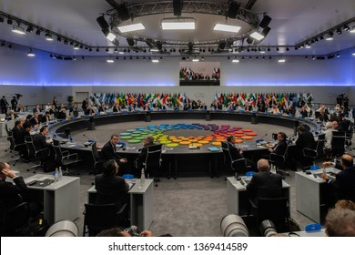 All the presidents of the G20 are seen during the G20 meeting. November 30, 2018. Capital Federal, Buenos Aires, Argentina.