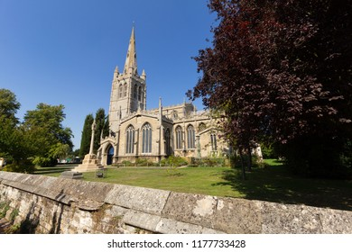 All Saints Church in the town of Oakham in Rutland, UK