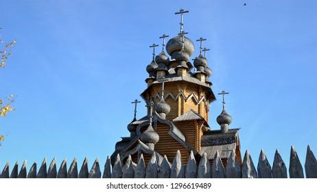 All Saints Stave Church (All Saints Skete)  Holy Dormition Saint Lavra