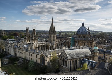 All Souls College with Radcliffs Camera