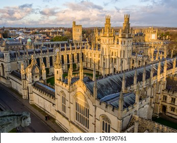 All Souls College at the university of Oxford. Oxford, England