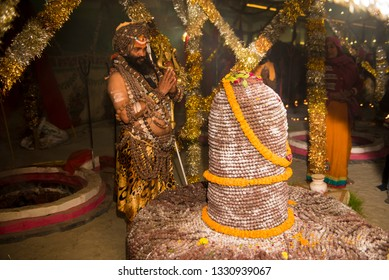 Worship of Lingam Images, Stock Photos & Vectors | Shutterstock