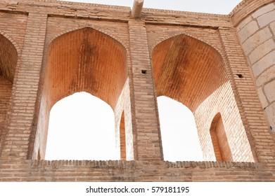 Allahverdi Khan Bridge (Si-o-seh pol), ancient bridge in Isfahan.
