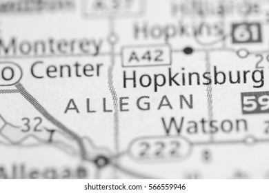 Allegan. Michigan. USA
