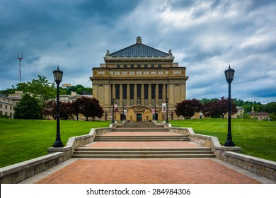 The Allegheny County Soldiers Memorial, in Pittsburgh, Pennsylvania.