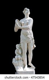 An allegory is Youth. Unknown sculptor. Italy. XVIII century. Marble