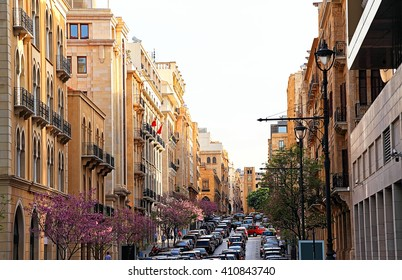 Allenby Street in Downtown Beirut