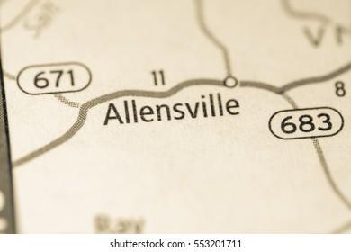 Allensville. Ohio. USA