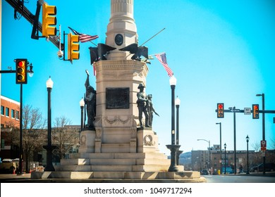 Allentown, Pennsylvania, United States, March 18 2018: Allentown downtown street
