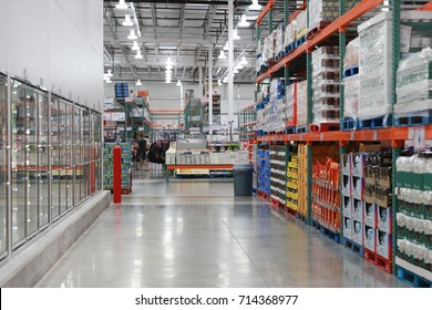 Allentown - September 12:  Costco store at  Allentown on September 12, 2017 in Pennsylvania, USA.