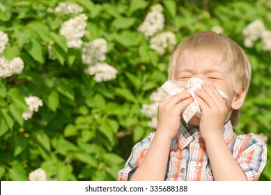 Allergy at the boy