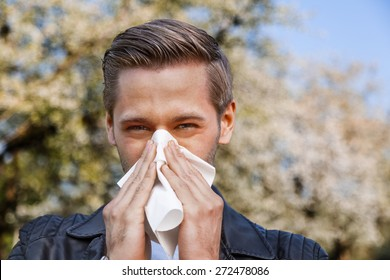 Allergy, Man, Spring