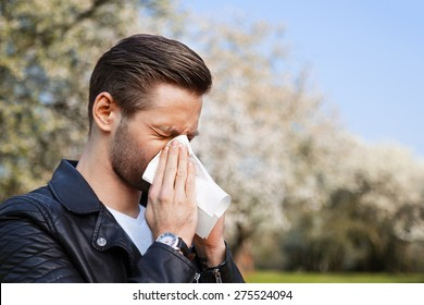 Allergy, Man, Springtime
