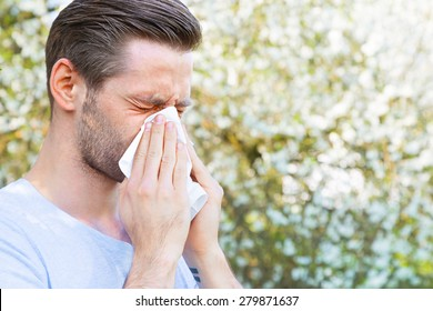 Allergy, Springtime, Man