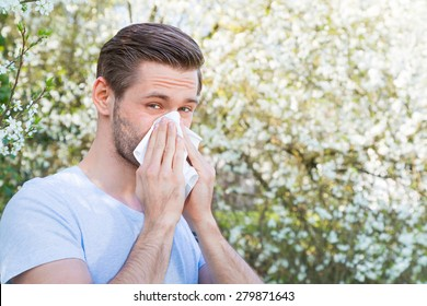 Allergy, Springtime, Man