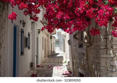 Alley on Samos, Greece