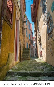 Alley in Oporto, Portugal