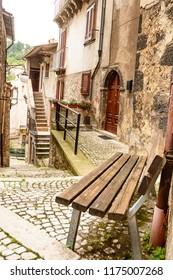 Alley of Scanno in Abruzzo (Italy)