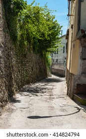 alley in a small Italian village