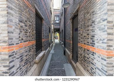 Alley at Xintiandi, Shanghai, China