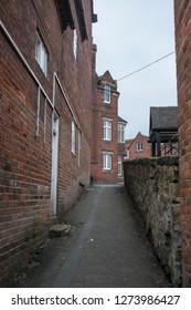 Alleyway old town image